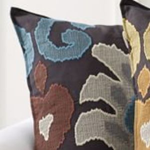 Pottery Barn Emilia Ikat Pillow Cover